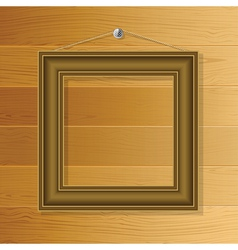 Brown frame vector