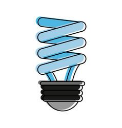 energy saving lightbulb eco friendly icon image vector image vector image