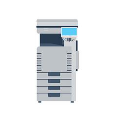 Printer machine photocopier copy office photocopy vector