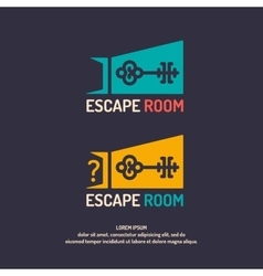 Real-life room escape vector