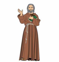 Religious figure vector