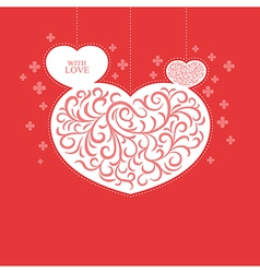 With love card vector