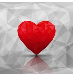 Abstract modern style love background vector