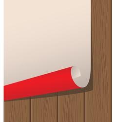 poster wooden texture vector image vector image