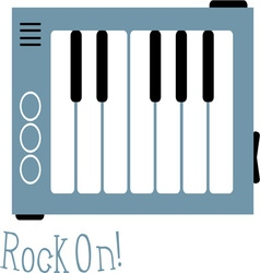 Rock On vector image vector image