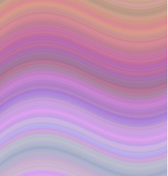 Smooth gradient wave background in pastel tones vector image vector image