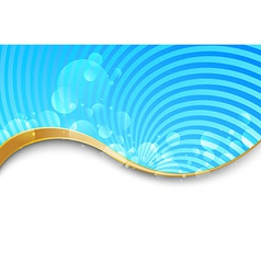 Swirl background - abstract vector image vector image