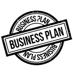 Business plan rubber stamp vector