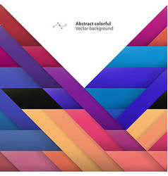 Color geometric shapes abstract geometric colorful vector
