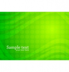 Vector green abstract background vector