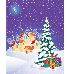 Christmas mystery vector image vector image