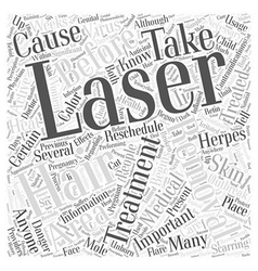 Contraindications of laser hair removal word cloud vector