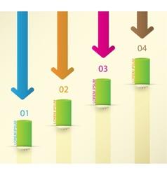 Different way infographics set vector