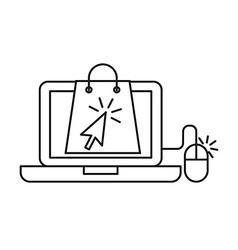 ecommerce concept design vector image