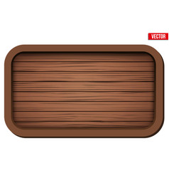 old wooden board vector image