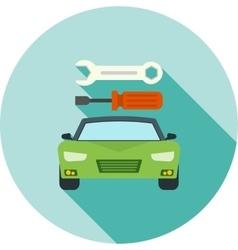 Car repair ii vector