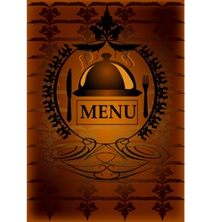 Generic restaurant menu vector