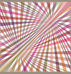 Multicolored curved ray burst background - vector