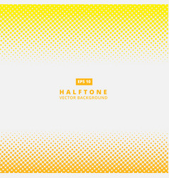 Abstract yellow dotted line halftone effect vector