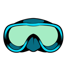 diving mask icon icon cartoon vector image vector image