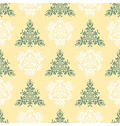 Seamless heraldic pastel color pattern with blazon vector