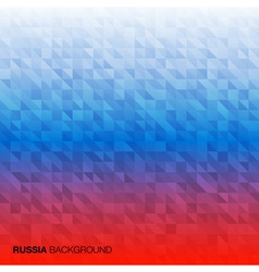 Abstract Background using Russia flag colors vector image