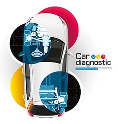 Car diagnostic vector
