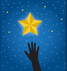 Desire to get a star vector
