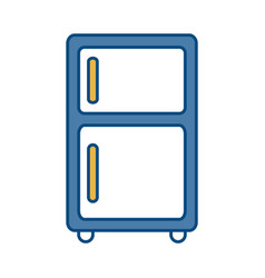 Fridge icon image vector