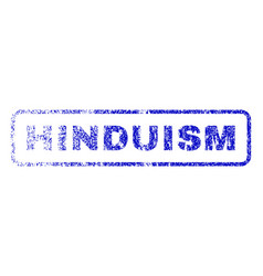 Hinduism rubber stamp vector