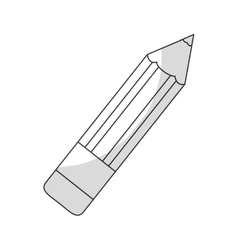 Pencil pictogram icon image vector