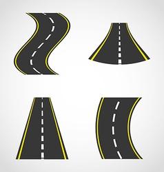 Road concept vector