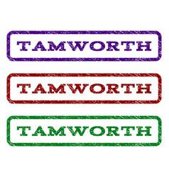 Tamworth watermark stamp vector