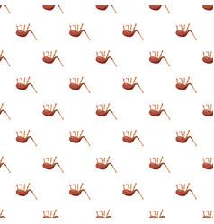 Scottish bagpipe pattern vector