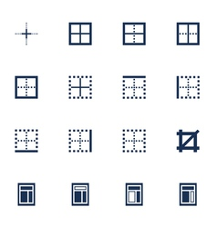 Windows icons vector