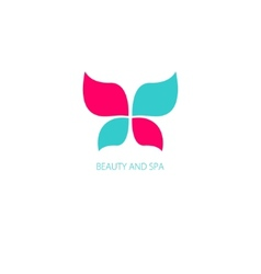 With butterfly symbol vector