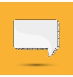 Communication design bubble icon talk and comic vector