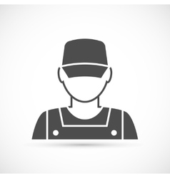 Mechanic avatar icon vector image