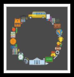 Basic Education Background vector image