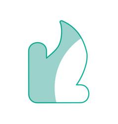 download arrow symbol vector image