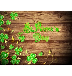 StPatrick Day vector image vector image