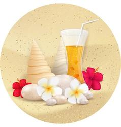 summer juice vector image vector image