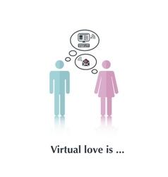 Virtual love is vector