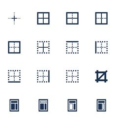 Windows icons vector