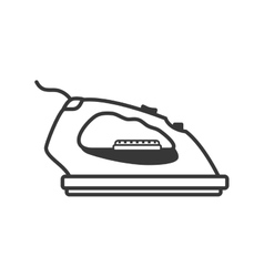 Iron supply house electric appliance icon vector