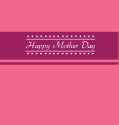 Card for mother day collection vector
