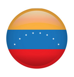 isolated venezuelan flag vector image vector image