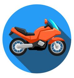 Sport motorcycle logo vector