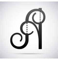 Letter a icon design template vector