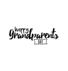 Grandparents day background vector